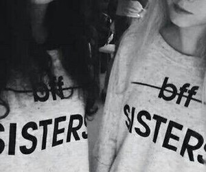 sisters, bff, and friends image