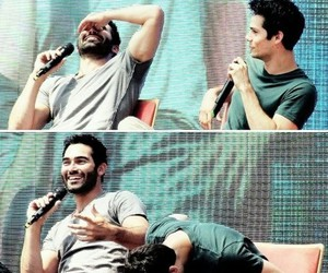 teen wolf, tyler hoechlin, and funny image