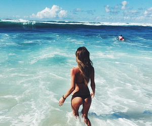 beach, beautiful, and inspo image