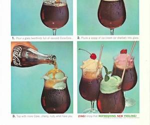 coke, food, and ice cream image