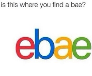 bae, ebay, and funny image