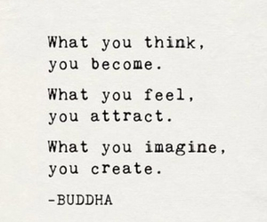 Buddha, life, and quote image