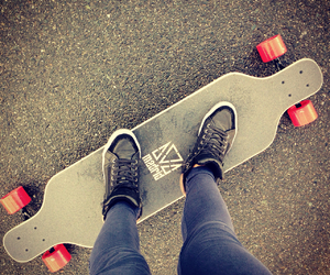 longboard, iloveit<3, and longboarding;3 image