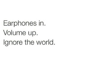 music, earphones, and world image
