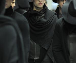 fashion, men, and black image