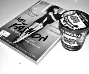 ben and jerrys, Elle, and fashion image