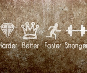 hard, Stronger, and better image