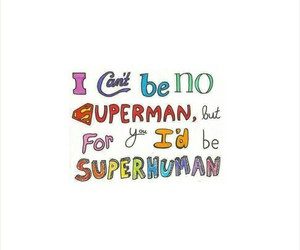 quote and superman image