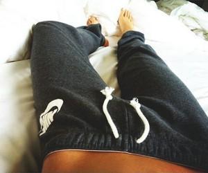 nike, white, and pants image