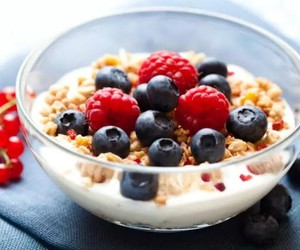 breakfast, healthy, and cereals image