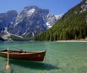 beautiful, mountains, and lake image