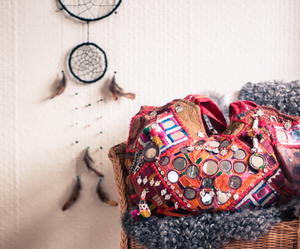 bags, dream catcher, and fashion image