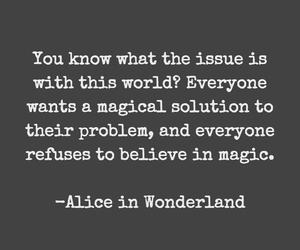 magic, quotes, and alice in wonderland image