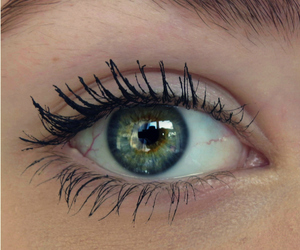 eyes, green, and amazing image