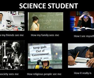 science, student, and funny image