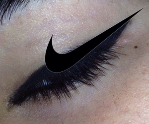 nike, pale, and black image
