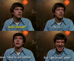 that 70s show, funny, and food image