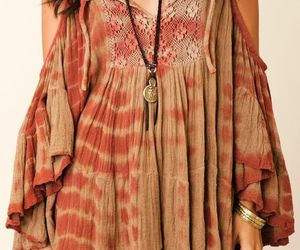 dress, clothes, and hippie image