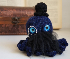 handmade, monocle, and mustache image