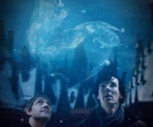harry potter and johnlock image