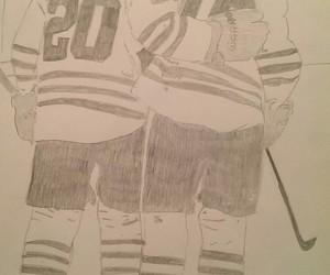 19, chicago, and hockey image
