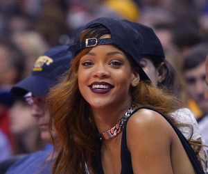 rihanna and smile image