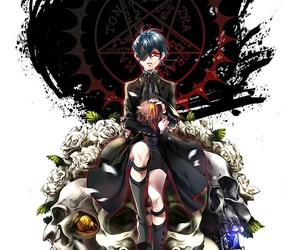 anime, black butler, and demon image