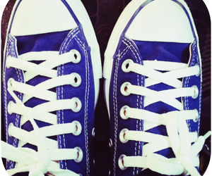 blue and shoes image