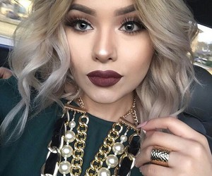 beautiful, fashion, and makeup image