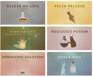 harry potter and potions image