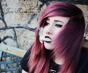 alt girl, red hair, and scene girl image