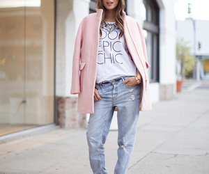 pink, chic, and shorts image