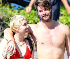 couple, happy, and miley cyrus image