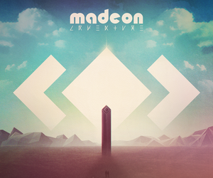 music, madeon, and adventure image
