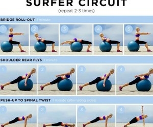 exercises, sport, and workout image