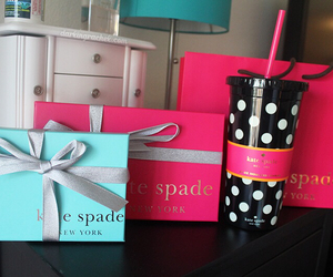 kate spade, box, and girl image