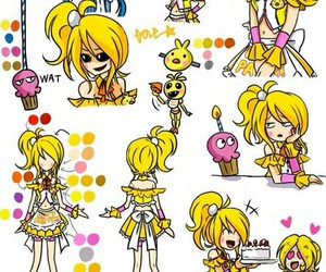 toy chica and fnaf image