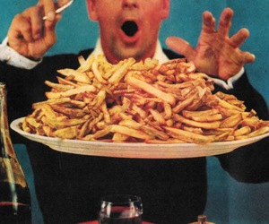 food, gif, and French Fries image