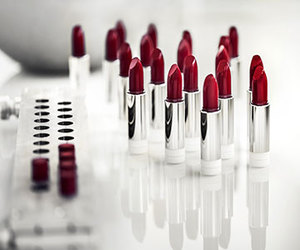 lipstick, fashion, and red image