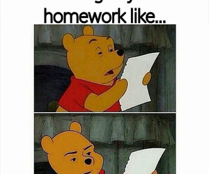 homework, funny, and true image