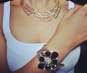 accessory, bracelet, and colar image