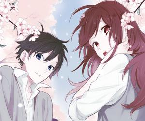 horimiya and manga image