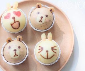 food, cute, and cupcake image