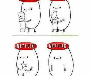 netflix, life, and funny image
