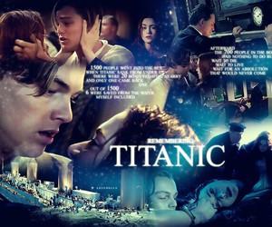 titanic, jack, and jack and rose image
