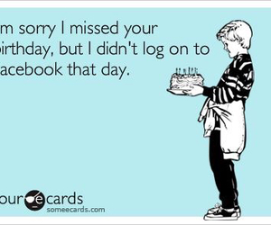 birthday, ecards, and facebook image
