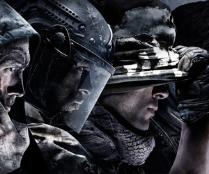game, ghost, and call of duty image