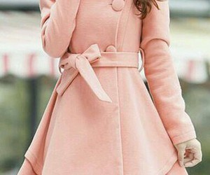 coat, lovely, and style image