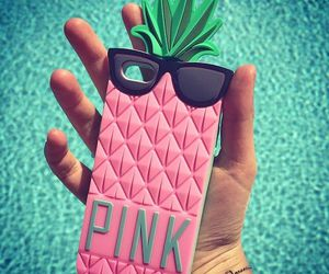 pink, summer, and iphone image