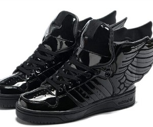 adidas, black, and Jeremy Scott image